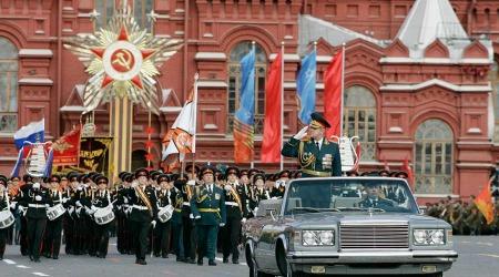 Парад Победы на Красной площади 9 мая 2014