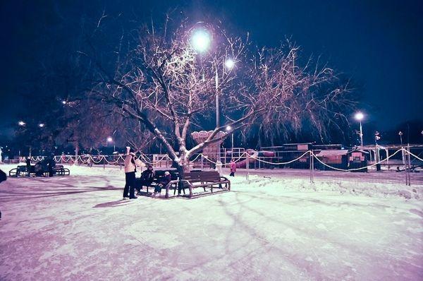 Ледовый Каток в Коломенском парке