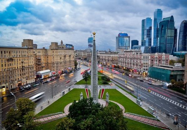 Обелиск «Москва - город-герой»
