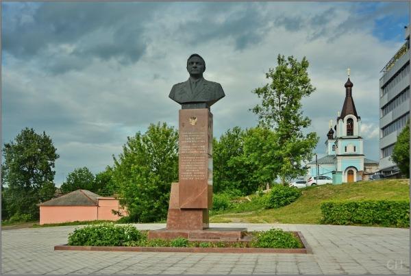 Бюст Валерию Федоровичу Быковскому