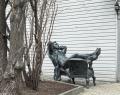 Памятник «Отдыхающий Пушкин»