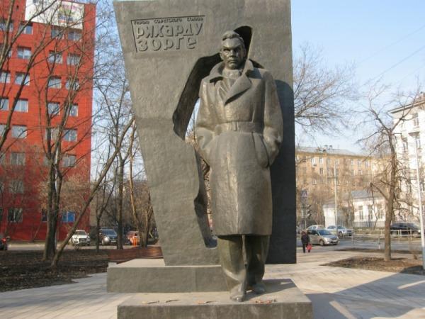 Памятник Герою Советского Союза Рихарду Зорге