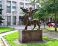 Скульптура «Весть»