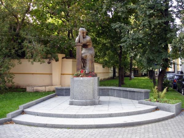 Памятник М.И. Цветаевой