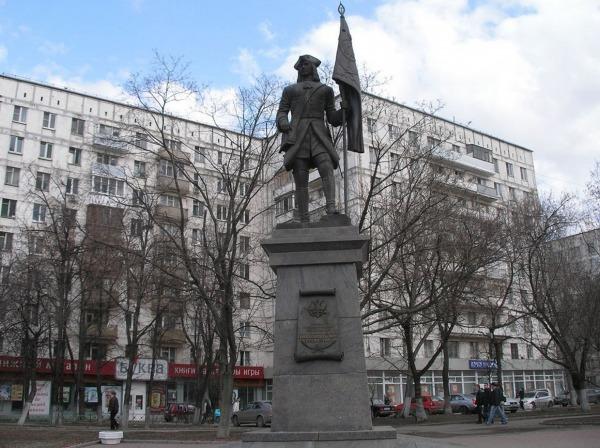 Памятник С.Л. Бухвостову