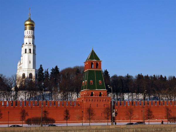 Первая Безымянная башня Кремля