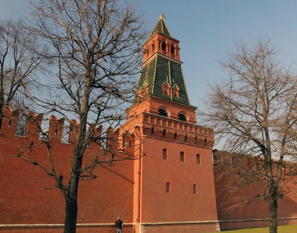 Вторая Безымянная башня Кремля