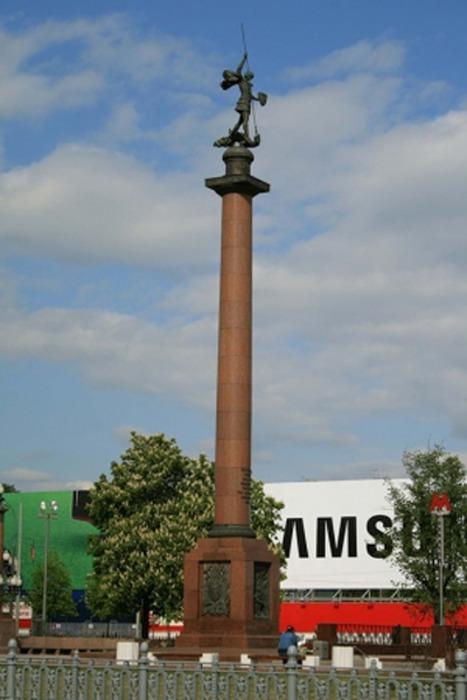 Памятник сотрудникам органов Внутренних дел, погибшим при исполнении служебного долга