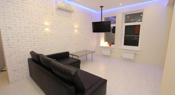 Apartment Night City Na Druzhby