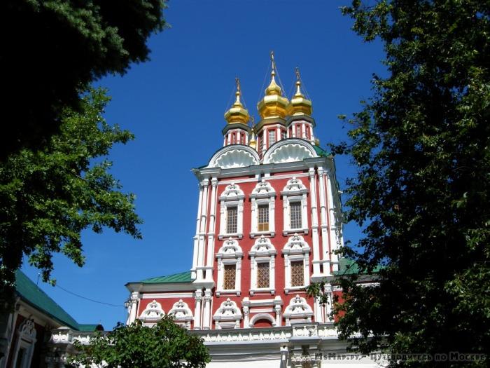 Церковь Спаса Преображения Новодевичьего монастыря