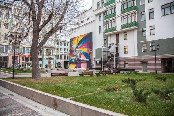 Сквер имени Майи Плисецкой