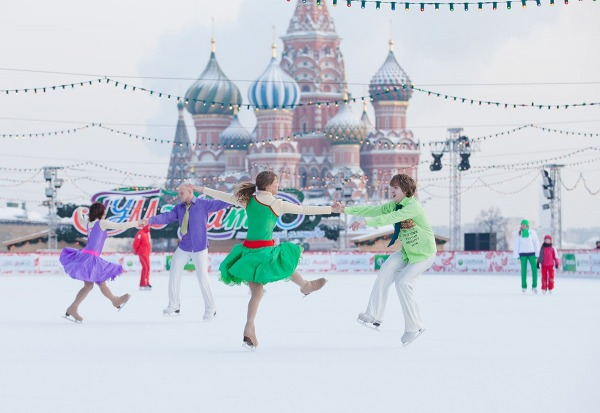 Ледовый Каток на Красной площади