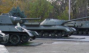 Музей военной техники под открытым небом в парке Сокольники