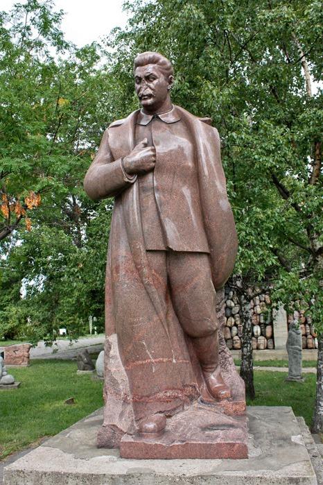 Памятник И.В. Сталину