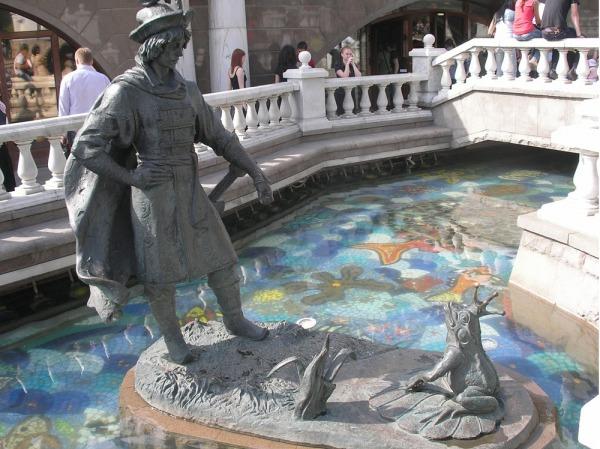 Скульптурная композиция «Герои сказок»