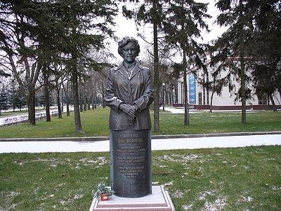 Памятник Анне Ильиничне Синилкиной