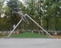 Скульптурная композиция «Вратарь – легенда века»