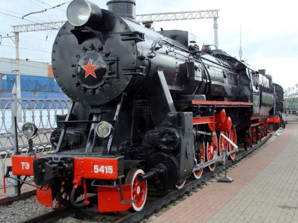 Музей железнодорожной техники на Рижском вокзале