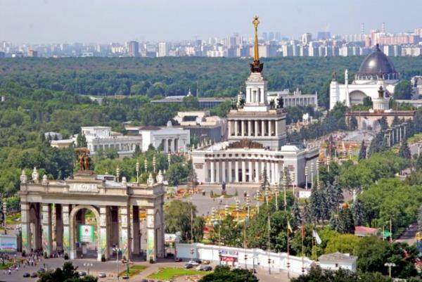Павильоны республик СССР