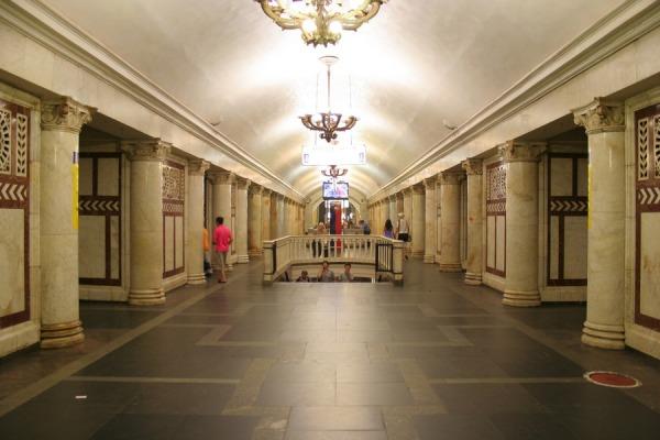 Станция метро «Павелецкая, Замоскворецкая линия»