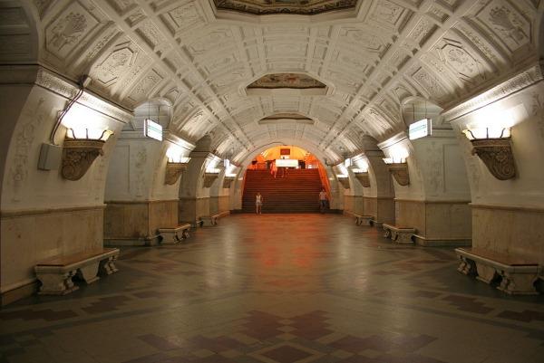 Станция метро «Белорусская, Кольцевая линия»
