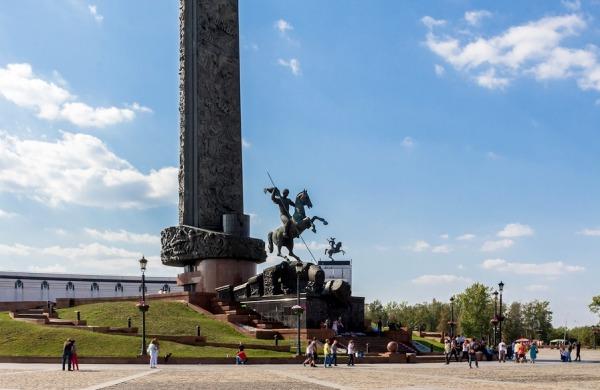 Площадь Победителей на Поклонной горе