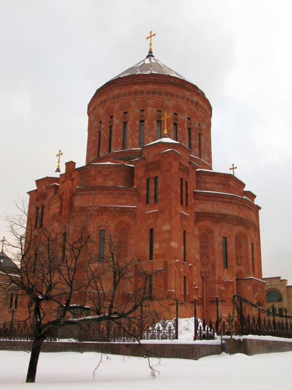 Армянский Кафедральный Собор Преображения Господня (2013)