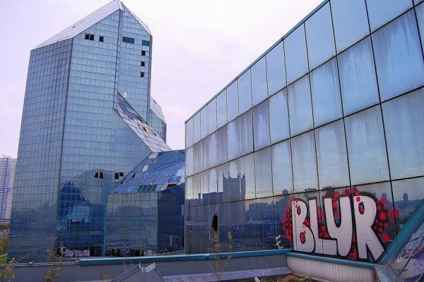 Заброшенный бизнес-центр «Зенит» (Синий Зуб)