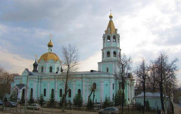 Храм Святителя Николая на Трёх Горах