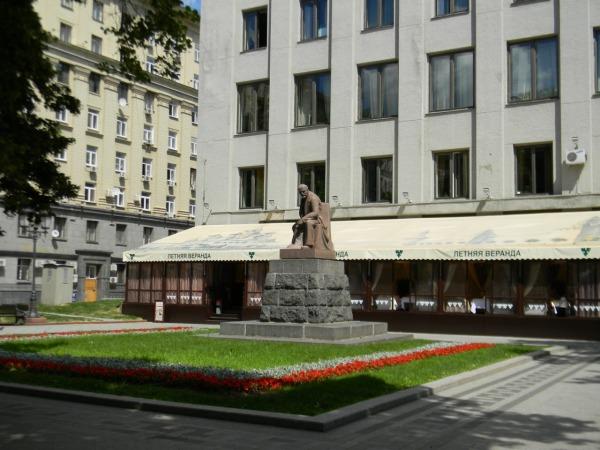 Памятник В.И. Ленину на Тверской площади