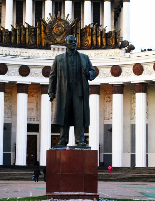 Памятник Владимиру Ильичу Ленину на ВДНХ