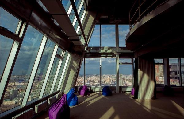 Смотровая площадка в башне Империя Тауэр