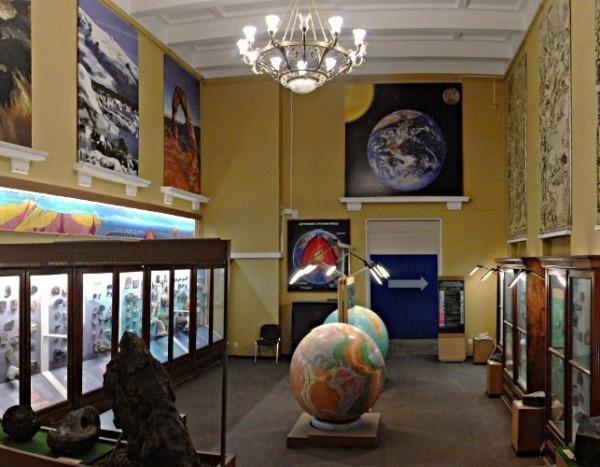 Выставка «История Земли» в Геологическом музее им. Вернадского