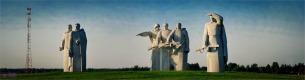 Памятник Героям Панфиловцам «Подвигу 28»