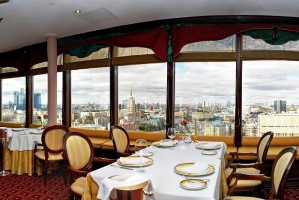 Обзорный ресторан гостиницы «Золотого кольца»