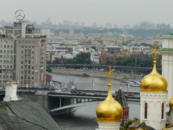 Смотровая на колокольне Ивана Великого в Кремле