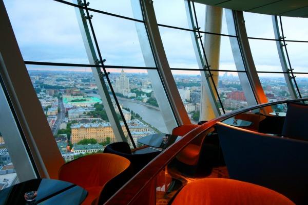 Смотровая бара «City Space Bar & Lounge»