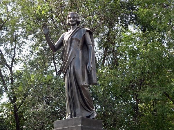 Памятник Индире Ганди