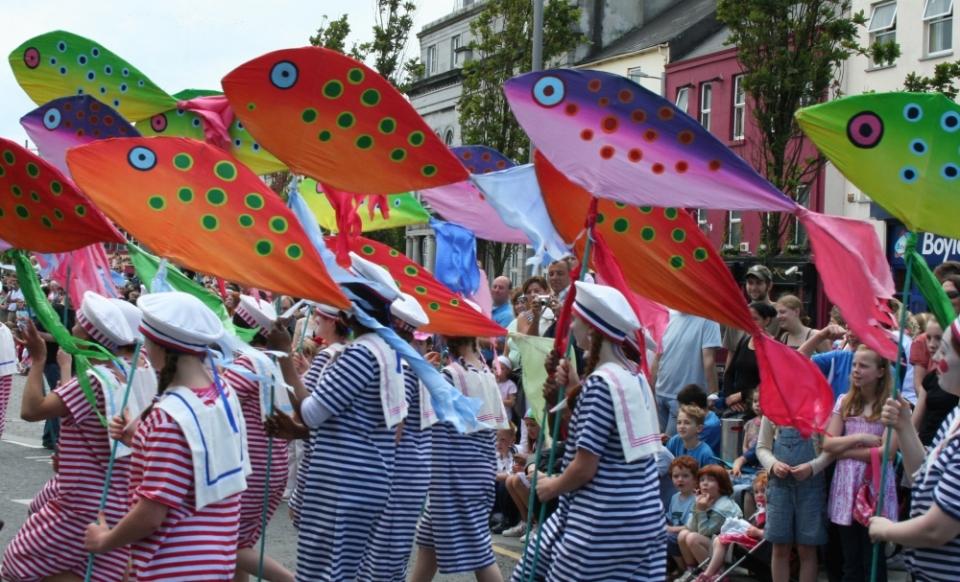 Петербужцы раскупили 300 тонн рыбы и морепродуктов на фестивале