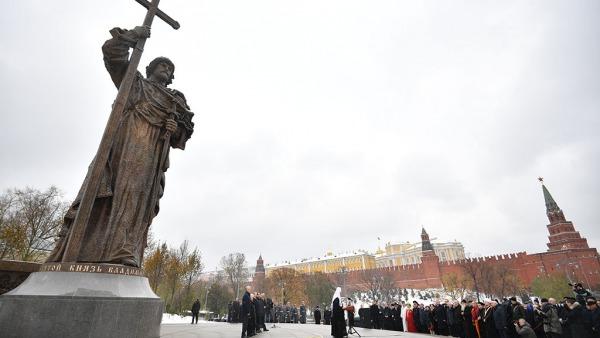 Памятник владимиру крестителю в москве на карте заказать памятник курск танк