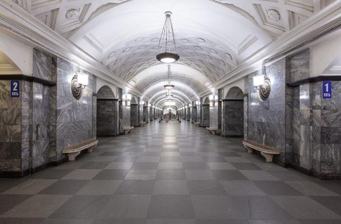 Арбатско покровская линия метро картинка