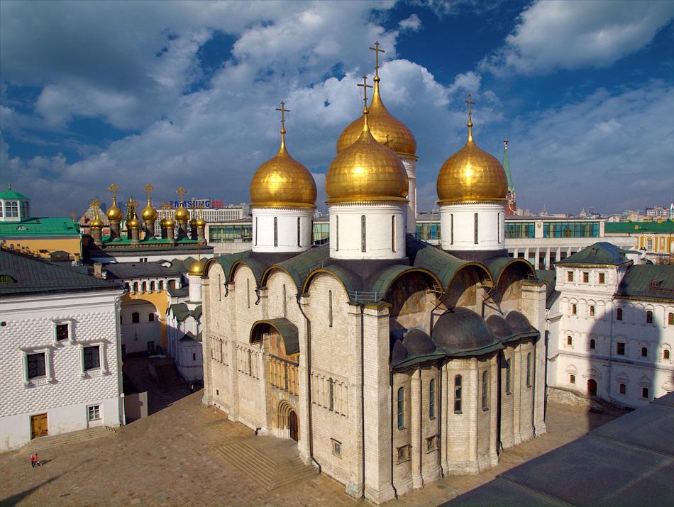 успенский собор фото москва