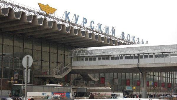 Карта схема курского вокзала в москве