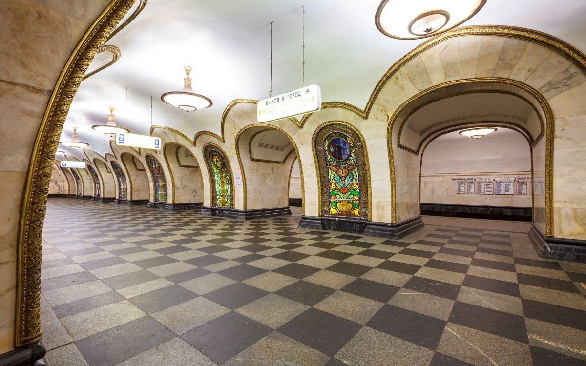 станция новослободская фото
